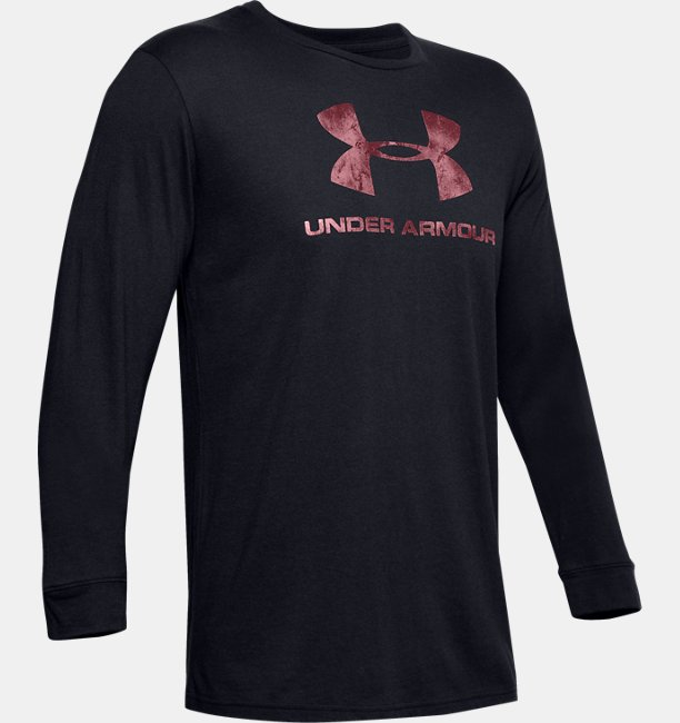Mens UA Sportstyle Fill Logo Long Sleeve