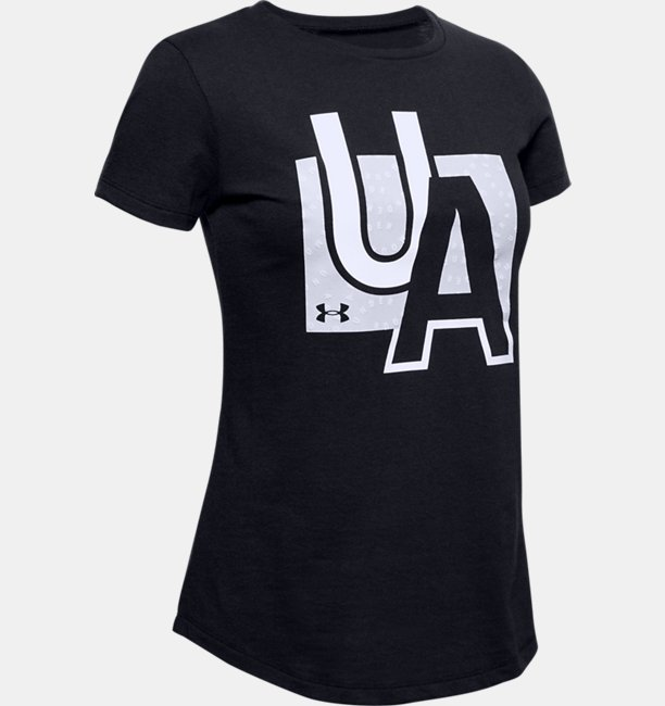 Girls UA Branded Graphic T-Shirt