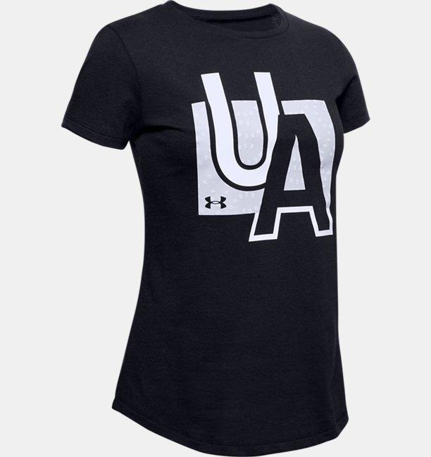Girls UA Branded Graphic T-Shirt