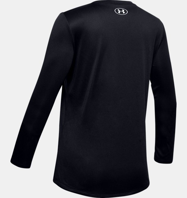 Girls UA Big Logo Long Sleeve