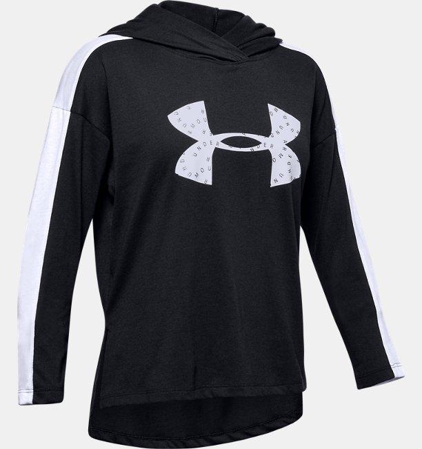 Girls UA Favorite Jersey Hoodie