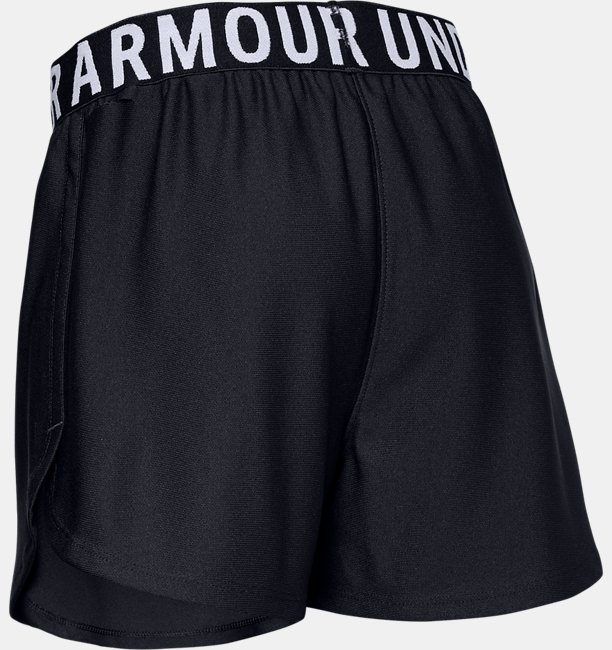 Girls UA Play Up Solid Shorts