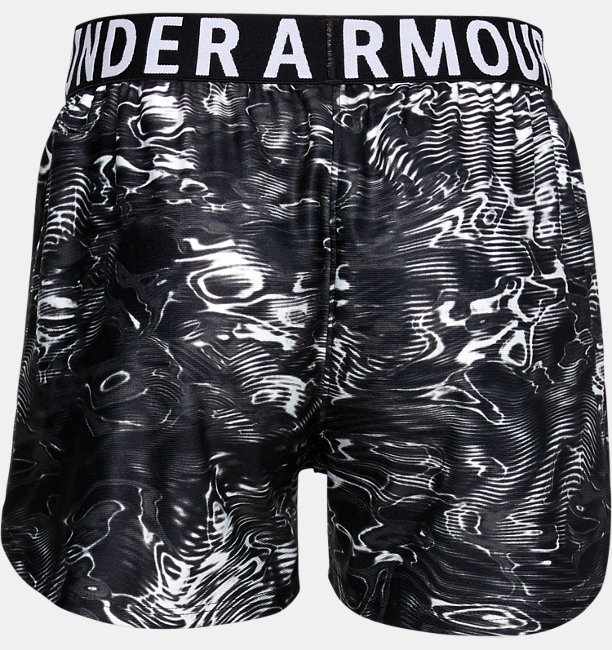 Girls UA Play Up Printed Shorts
