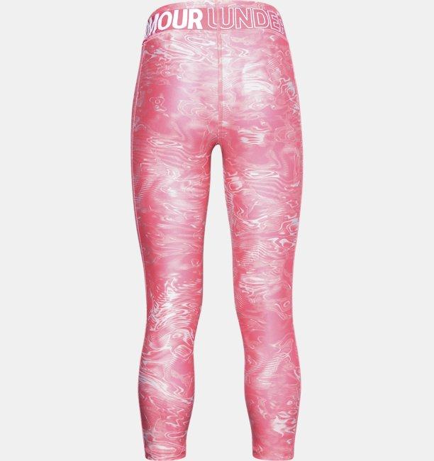 Meisjeslegging HeatGear® Armour Printed Crop
