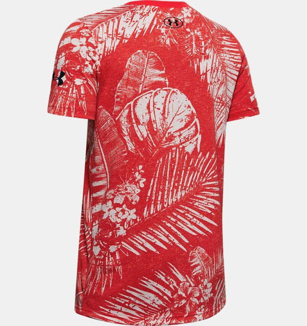 Boys Project Rock Warrior Mana Short Sleeve