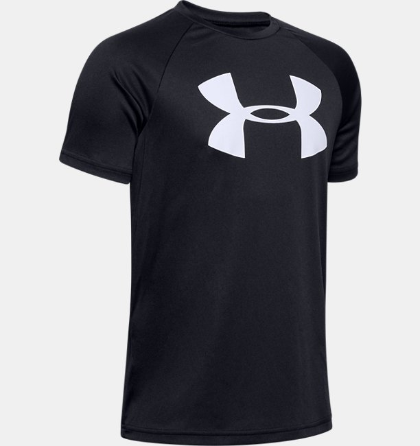 Boys' UA Tech™ Big Logo Short Sleeve