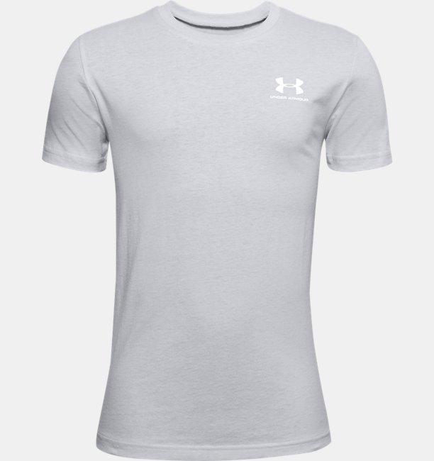 Boys UA Sportstyle Left Chest Short Sleeve
