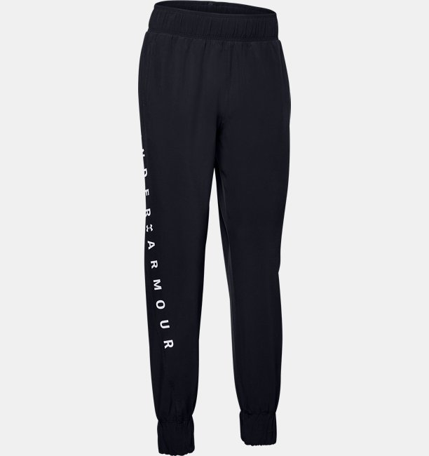 Womens UA Woven Branded Trousers