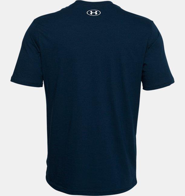 Mens UA Branded Wordmark Graphic Short Sleeve