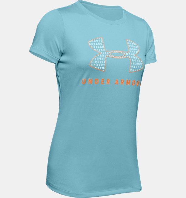 Womens UA Tech™ Logo Graphic Short Sleeve Crew