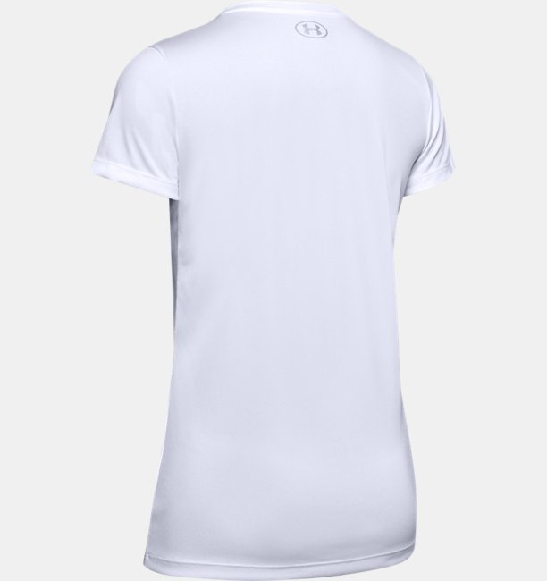Playera Manga Corta UA Tech™ Branded Fit Kit para Mujer