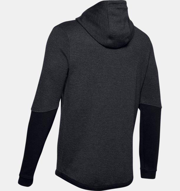 Mens UA Double Knit Full-Zip Hoodie