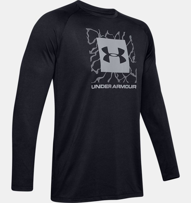 Mens UA Tech™ 2.0 Graphic Long Sleeve
