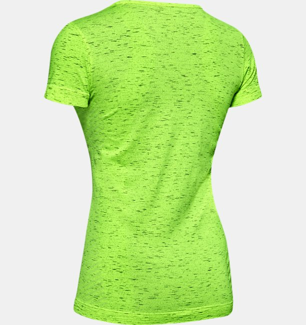 T-shirt à manches courtes UA Seamless Melange pour femme