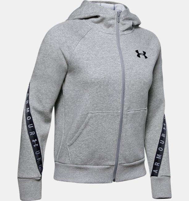 Polerón UA Taped Fleece Full Zip para Mujer