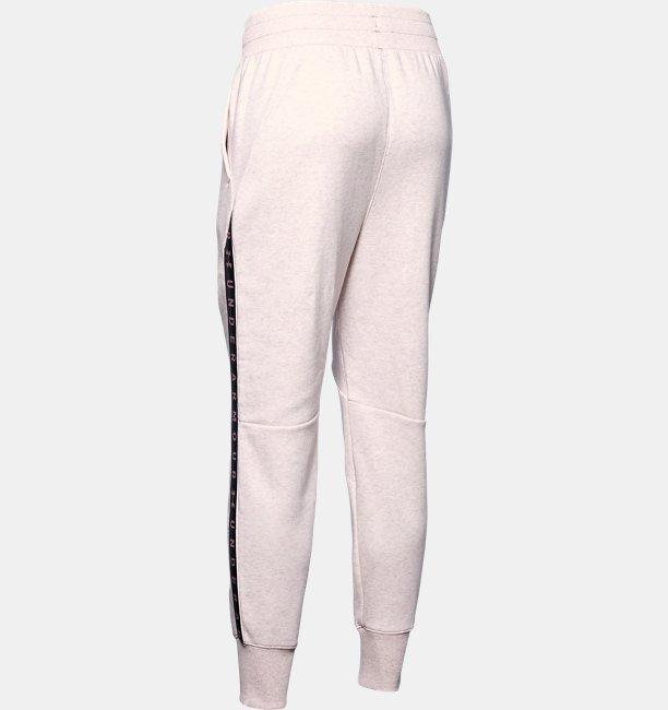 Calça de Treino Feminina Under Armour Fleece Taped Wordmark
