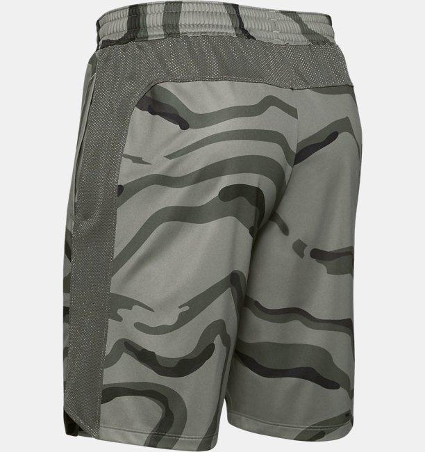 Mens UA MK-1 Printed Shorts