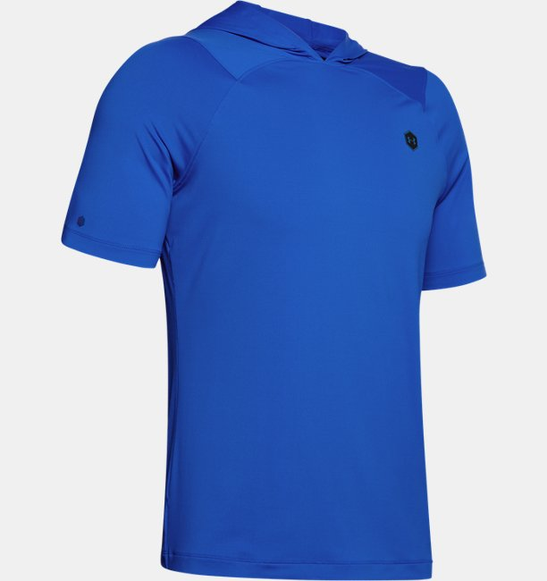 Mens UA RUSH™ HeatGear® Short Sleeve Hoodie