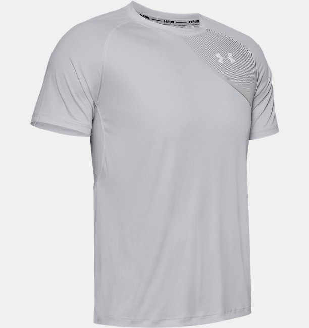 Mens UA Qualifier Iso-Chill Run Short Sleeve