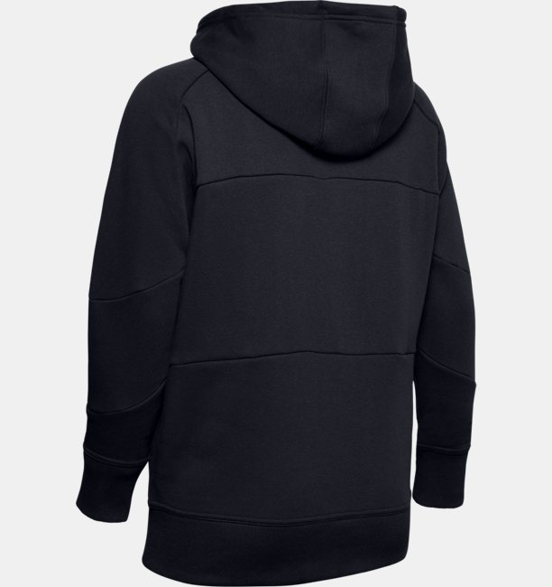 Womens UA Rival Fleece Colour Block Hoodie