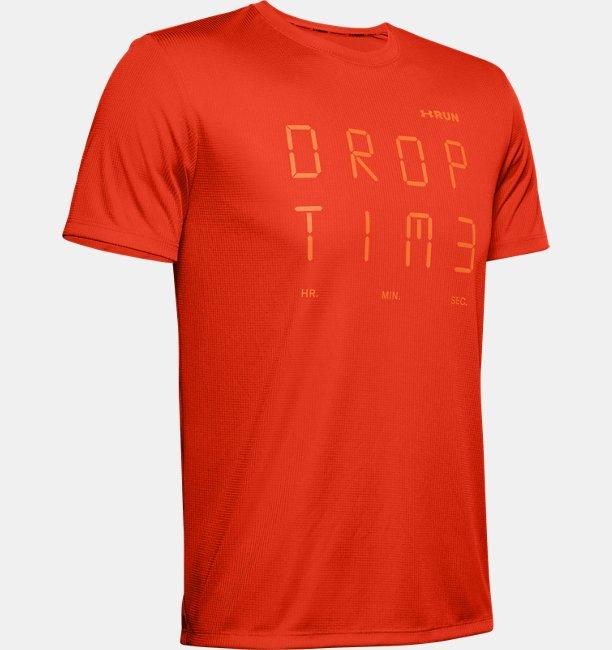 Mens UA Graphic Time Short Sleeve