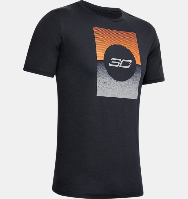 Camiseta de Basquete Masculina Under Armour SC30™ Gradient Graphic