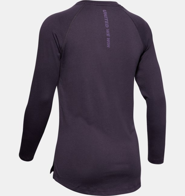 Womens UA WHM Graphic Long Sleeve