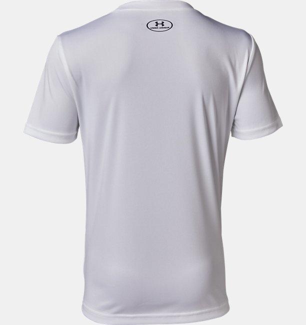 UAテック ロゴ ブランド ショートスリーブ(トレーニング/Tシャツ/BOYS)