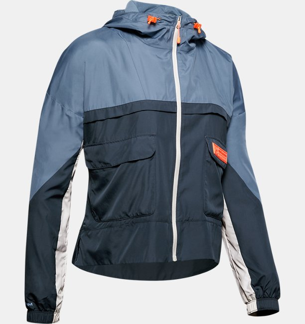 Womens UA Trek Woven Jacket