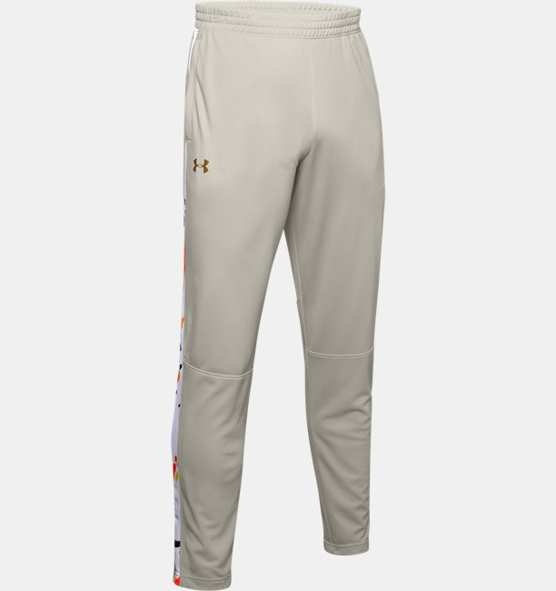 Mens UA Sportstyle Pique Upstream Camo Track Pants