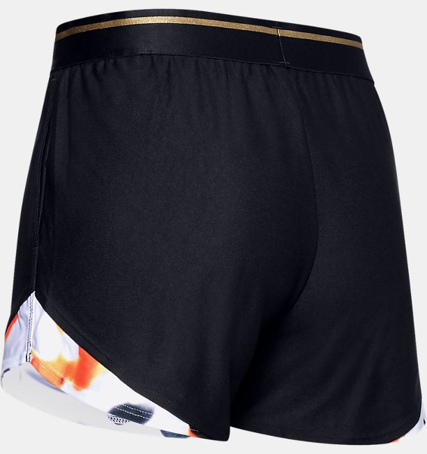 Womens UA Play Up 3.0 Upstream Camo Shorts