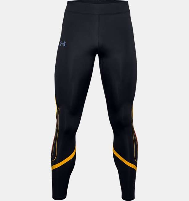 Mens UA Qualifier Speedpocket HeatGear® Graphic Tight