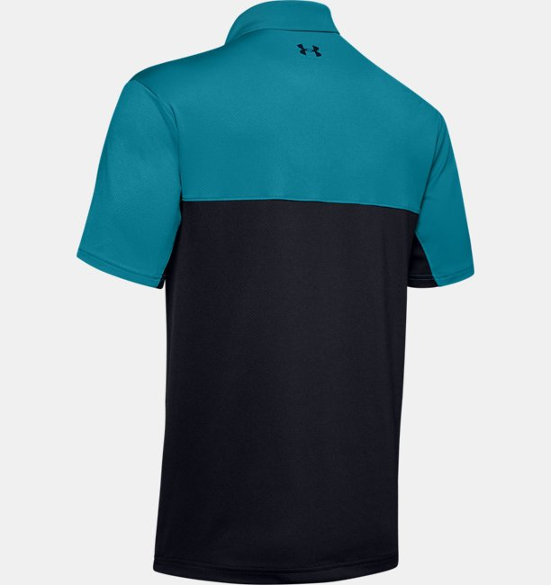 Mens UA Performance 2.0 Colorblock Polo