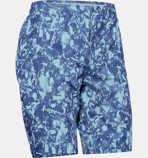 Womens UA Links Printed Shorts