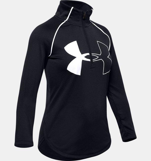 Girls UA Tech™ Big Logo ½ Zip