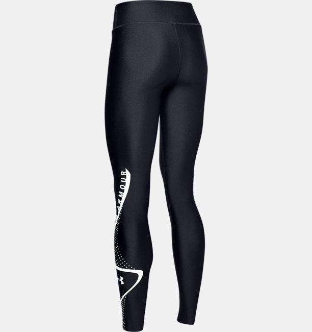 Calzas HeatGear® Armour Graphic Swerve Wordmark para Mujer