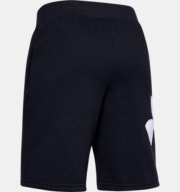 Boys UA Rival Fleece Logo Shorts