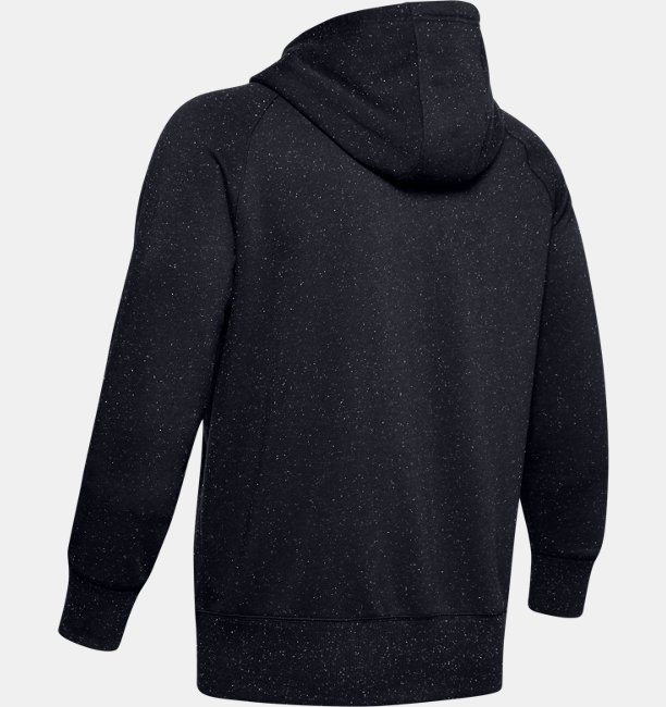 Mens UA Speckled Fleece Full Zip Hoodie