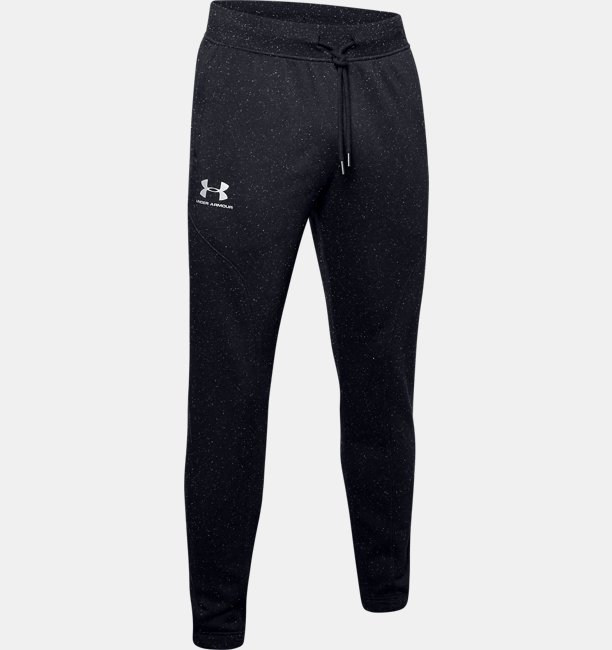 Mens UA Speckled Fleece Joggers