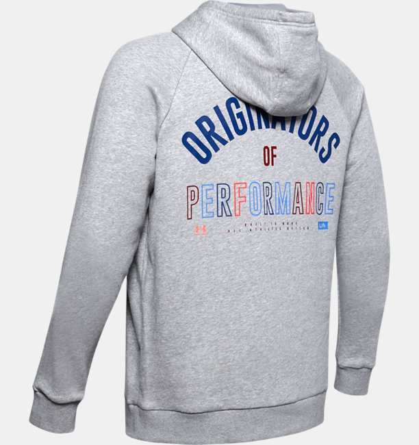 Mens UA Rival Fleece Originators Hoodie