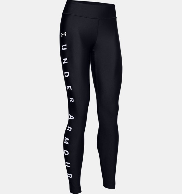 Womens HeatGear® Armour Graphic Wordmark Leggings