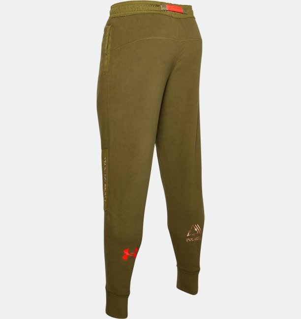 Mens UA Trek Polar Fleece Pants