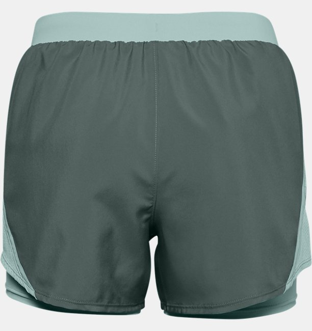 Womens UA Fly By 2.0 2-in-1 Shorts