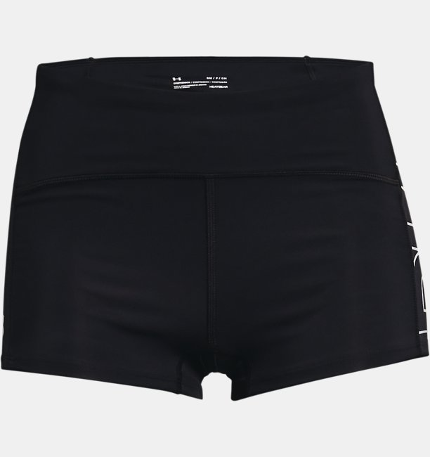 Damen UA Launch Mini-Shorts