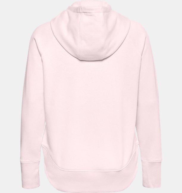 Womens UA Rival Fleece Metallic Hoodie