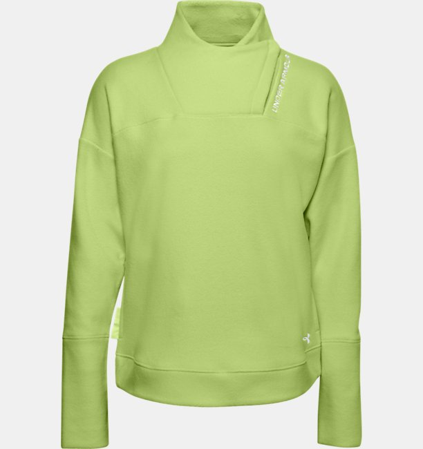 Womens UA RECOVER™ Fleece Wrap Neck