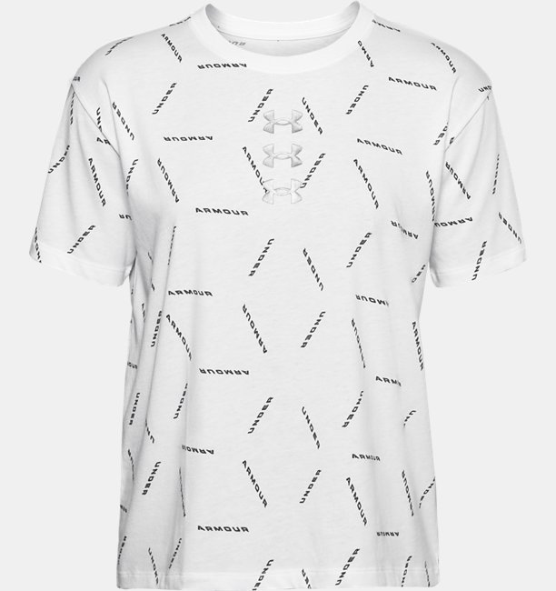 Womens UA Graphic AMP Short Sleeve