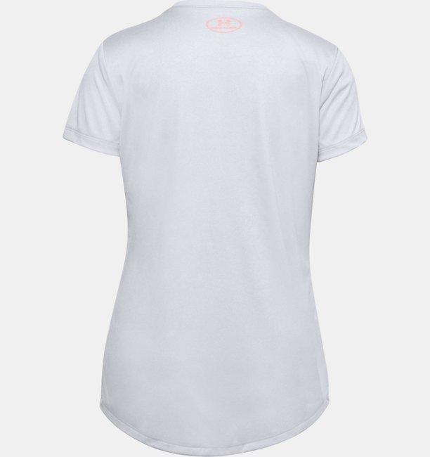 Girls UA Tech™ Branded Short Sleeve