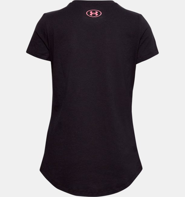 Girls UA Verbiage Short Sleeve