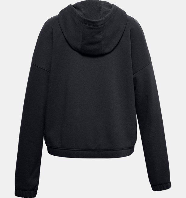 Mädchen UA Rival Fleece Hoodie mit durchgehendem Zip